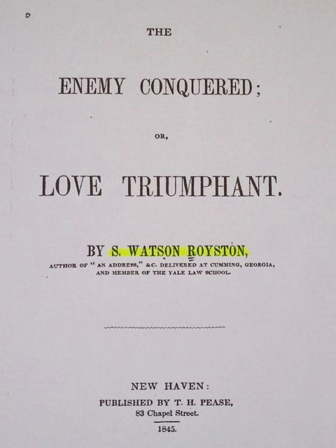 The Title Page of the Correct Source of the Quote
